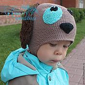 """Работы для детей, ручной работы. Ярмарка Мастеров - ручная работа Детская весенняя шапка """"Щенок"""". Handmade."""