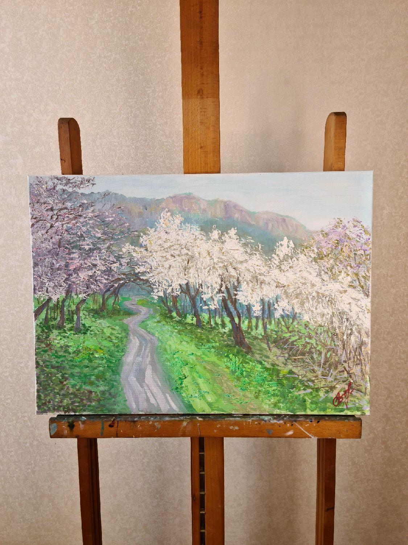 """""""Весна"""", холст/масло, 70*50, Картины, Севастополь,  Фото №1"""