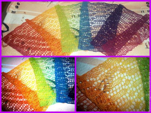 Шарфы и шарфики ручной работы. Ярмарка Мастеров - ручная работа. Купить шарф. Handmade. Разноцветный, шарф, шарф в подарок