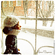 Коллекционные куклы ручной работы. Авторская кукла `Юлька фигуристка` - кукла на коньках. Купить куклу.  Зима Елисеева Алена  Ярмарка Мастеров