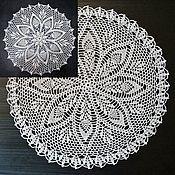 Swipe handmade. Livemaster - original item ROYAL napkin decorative. Handmade.