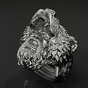 Украшения handmade. Livemaster - original item Viking Berserker Warrior ring. Handmade.