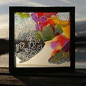 Для дома и интерьера ручной работы. Ярмарка Мастеров - ручная работа Цветочное трио 1. Handmade.