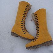 Ботинки ручной работы. Ярмарка Мастеров - ручная работа Ботинки женские AIDA. Handmade.