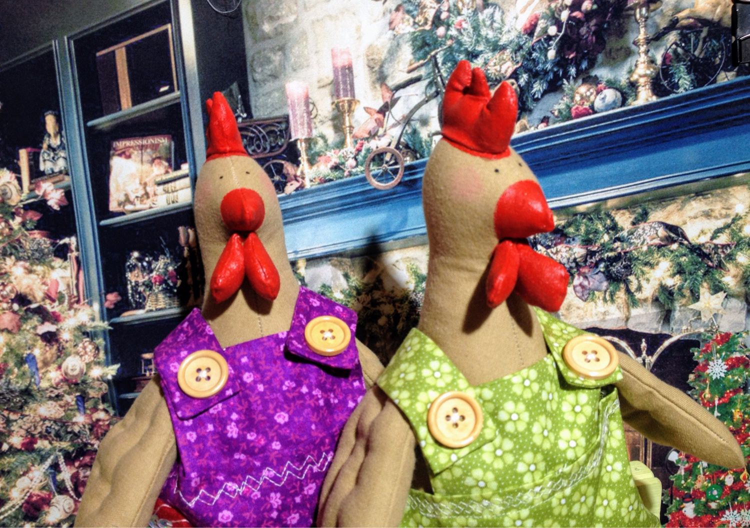 Roosters semen and Fedor, Stuffed Toys, Rostov-on-Don,  Фото №1