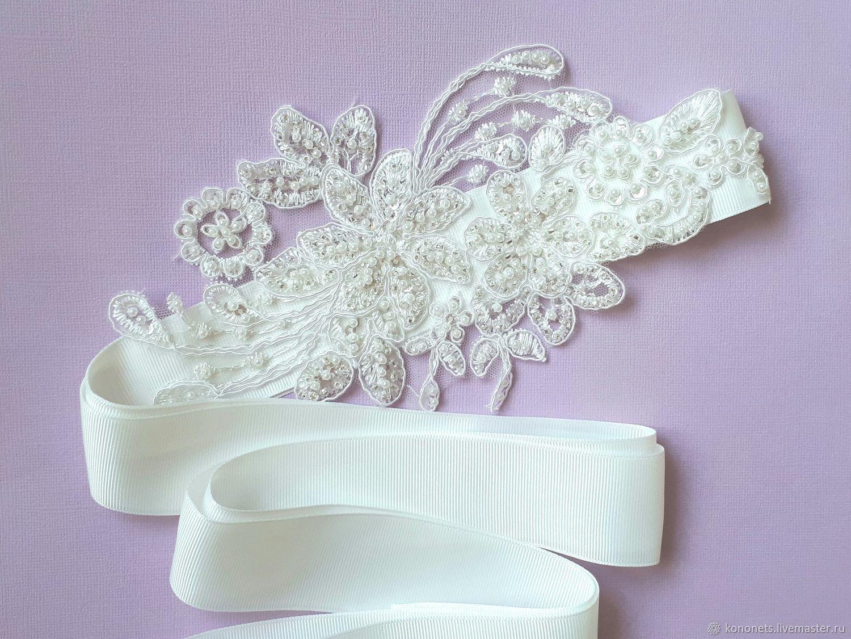 Пояс для свадебного платья, Свадебные аксессуары, Москва,  Фото №1