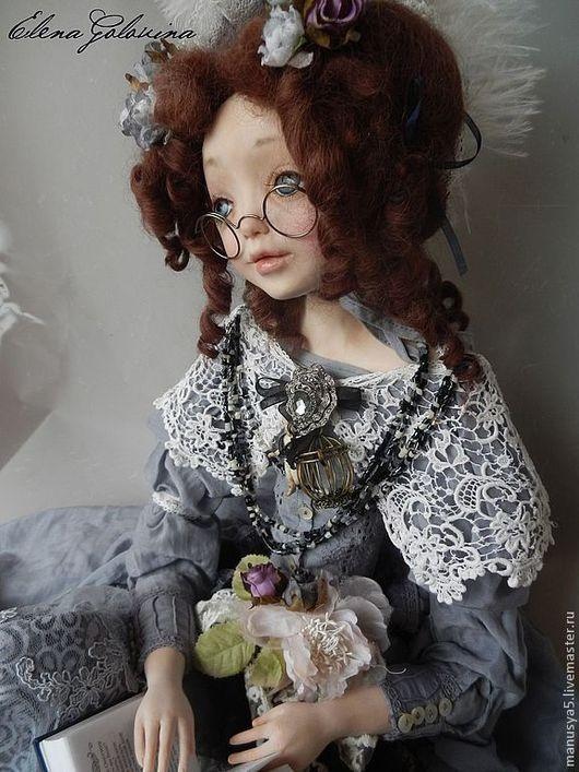"""Коллекционные куклы ручной работы. Ярмарка Мастеров - ручная работа. Купить Кукла """" Алисия"""". Handmade. Серый, алиса"""
