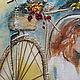 """Люди, ручной работы. Заказать картина """"Пара с собачкой"""". Ирина Жукова (praleska). Ярмарка Мастеров. Картина, портрет на заказ"""