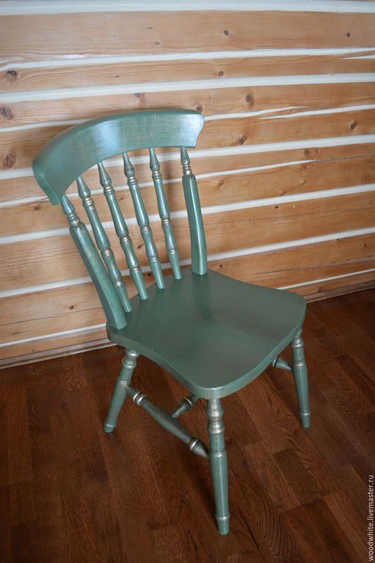 Мебель ручной работы. Ярмарка Мастеров - ручная работа. Купить Стул Анри. Handmade. Стул, стул из дерева, кухня, зеленый
