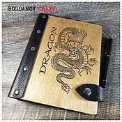 Канцелярские товары handmade. Livemaster - original item DRAGON Diary / DRAGON. Handmade.
