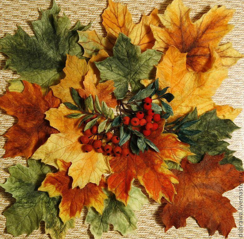 Из осенних листьев мастер класс