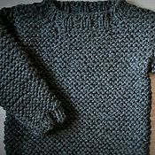 Одежда ручной работы. Ярмарка Мастеров - ручная работа Свитер крупной вязки. Handmade.