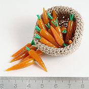 Куклы и игрушки ручной работы. Ярмарка Мастеров - ручная работа Морковь. Handmade.