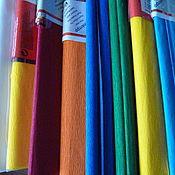 Материалы для творчества ручной работы. Ярмарка Мастеров - ручная работа бумага креп. Handmade.