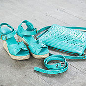 Обувь ручной работы handmade. Livemaster - original item Shoes leather Jess. Handmade.