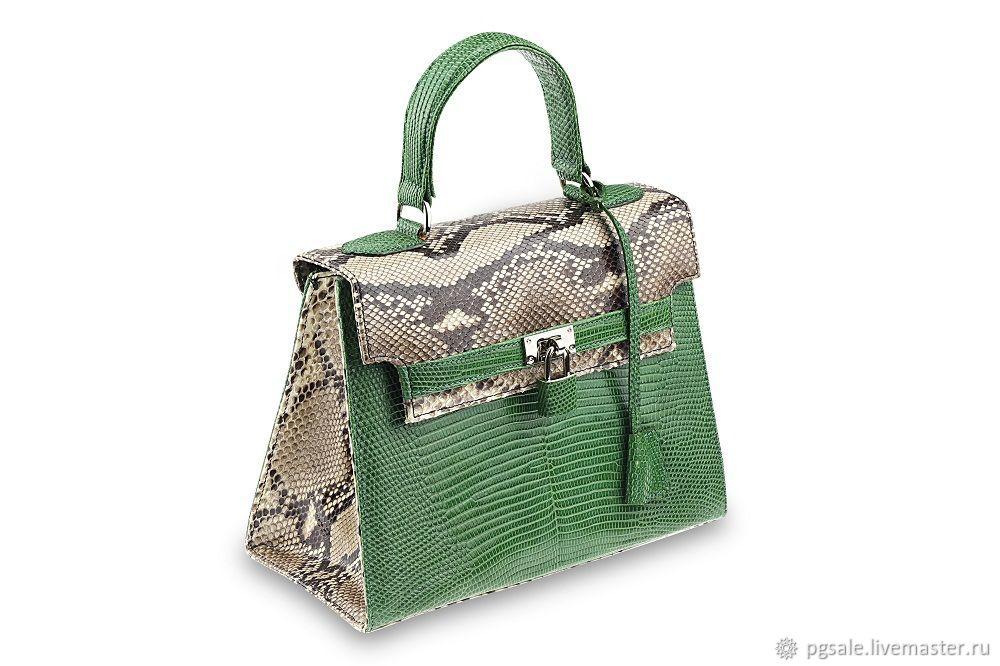 c7c7e38f7e8 ... shop handbags handmade. order hermes bag new womens genuine python and  lizard bag of reptiles ...