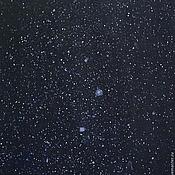 Картины и панно ручной работы. Ярмарка Мастеров - ручная работа Картина акрилом. Cosmos. Handmade.