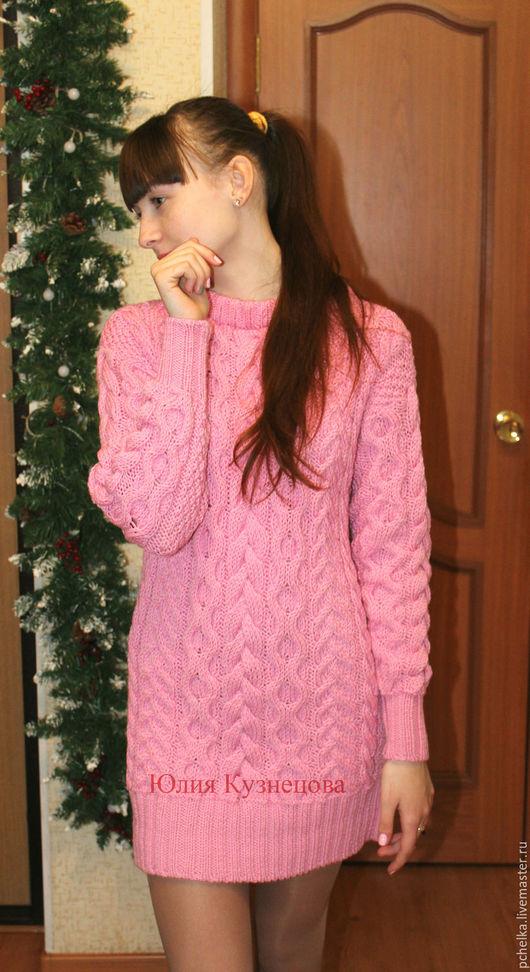 """Платья ручной работы. Ярмарка Мастеров - ручная работа. Купить Платье """"Кристина"""". Handmade. Бледно-розовый, косы"""