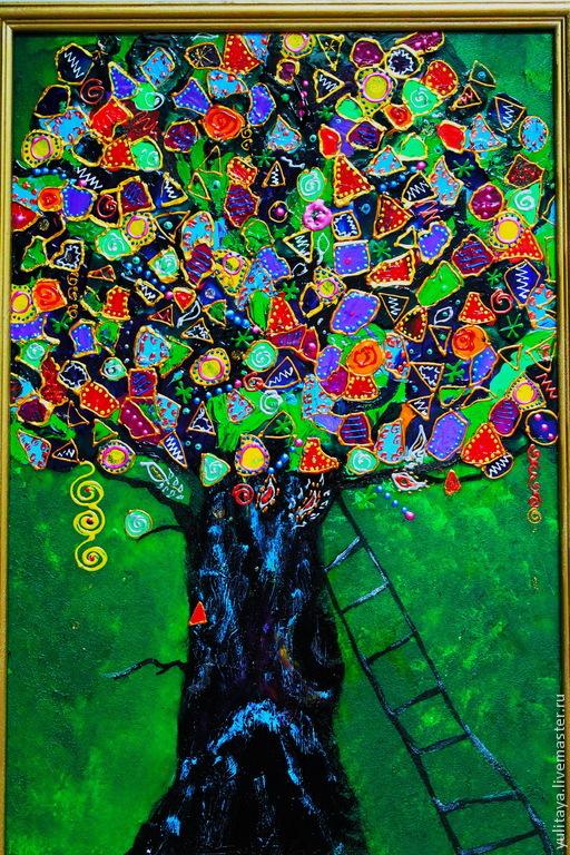 Дерево счастья панно
