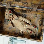 """Куклы и игрушки ручной работы. Ярмарка Мастеров - ручная работа Заяц """"Клубникин"""". Handmade."""