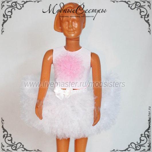 Одежда для девочек, ручной работы. Ярмарка Мастеров - ручная работа. Купить Комплект Арт.140. Handmade. Белый, детская юбка