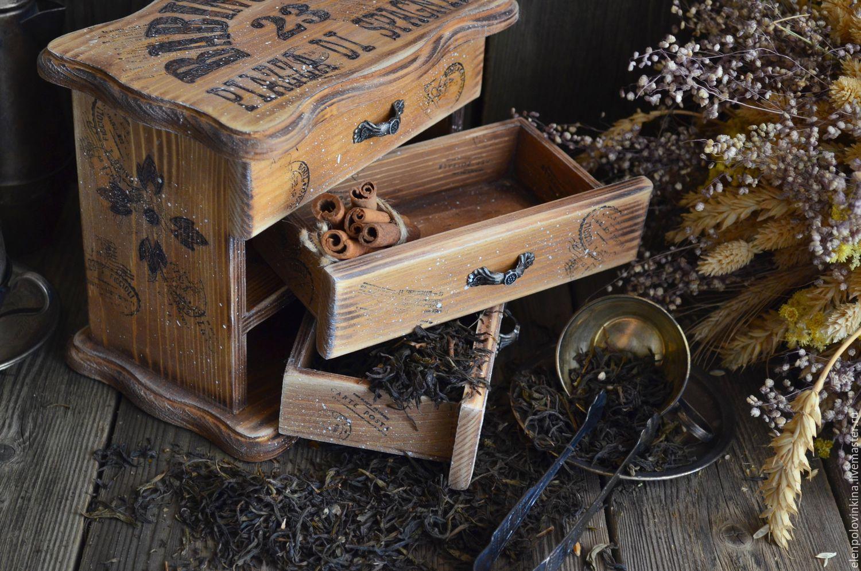 """""""римские легенды"""" мини-комод для чая /массив сосны/ - купить."""