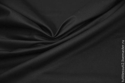 Шитье ручной работы. Ярмарка Мастеров - ручная работа. Купить Сатиновый хлопок 05-003-1789. Handmade. Черный, сатин
