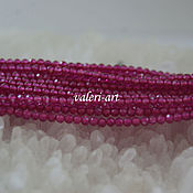 Бусины ручной работы. Ярмарка Мастеров - ручная работа Бусины из шпинели розовой шар 2 мм. Handmade.