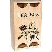 Материалы для творчества handmade. Livemaster - original item Action!!! Ch352010Dv Tea house double 35 20 10 cm.. Handmade.