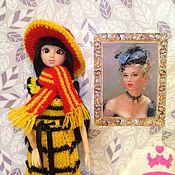"""Одежда для кукол ручной работы. Ярмарка Мастеров - ручная работа Шляпка для """"Барби"""". Handmade."""