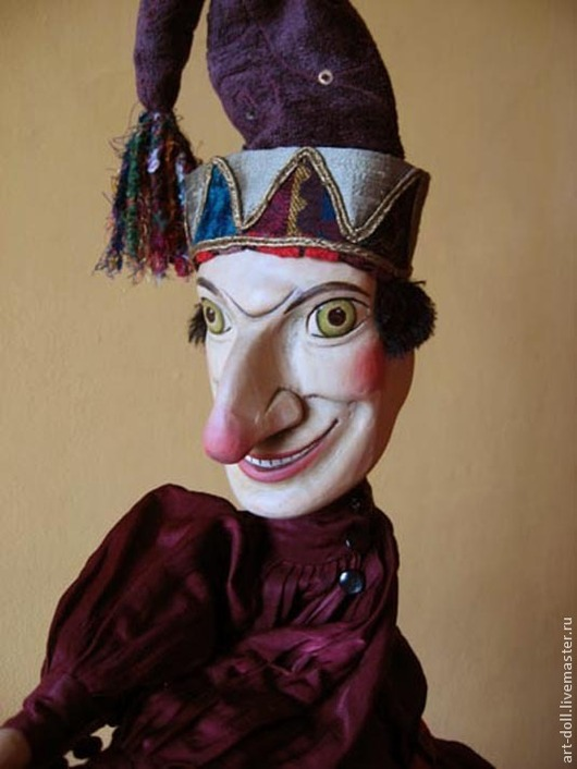 Кукольный театр ручной работы. Ярмарка Мастеров - ручная работа. Купить Петрушка. Handmade. Петрушка, купить петрушку куклу