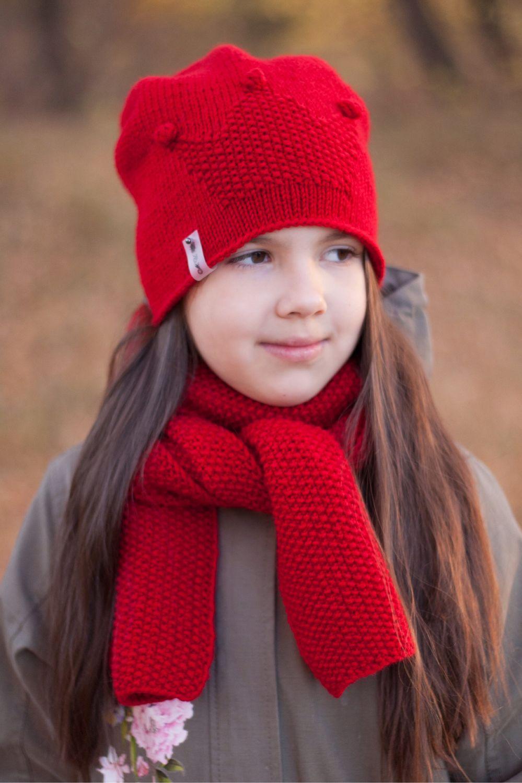 Комплект Corona (шапка бини+шарф), Комплекты головных уборов, Орск,  Фото №1