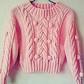 """Одежда ручной работы. Ярмарка Мастеров - ручная работа свитер """"Нежный"""". Handmade."""