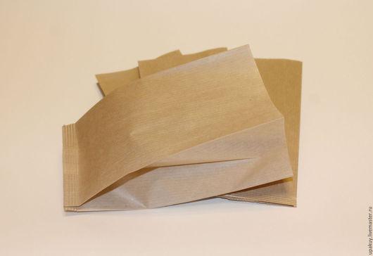 Упаковка ручной работы. Ярмарка Мастеров - ручная работа. Купить Крафт пакеты с V-образным дном. Handmade. Коричневый