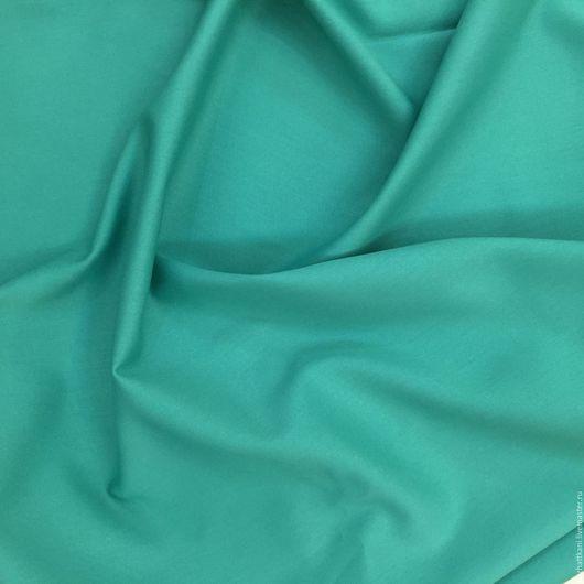 Шитье ручной работы. Ярмарка Мастеров - ручная работа. Купить Итальянская костюмная ткань. Handmade. Бирюзовый