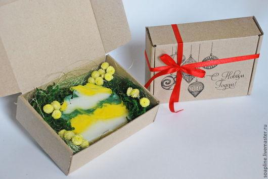 Подарочные наборы косметики ручной работы. Ярмарка Мастеров - ручная работа. Купить Оформление подарочной коробочки для мыла. Handmade. Упаковка