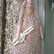 Куклы и игрушки ручной работы. Ярмарка Мастеров - ручная работа кукла в стиле тильда Ждём девочку!. Handmade.