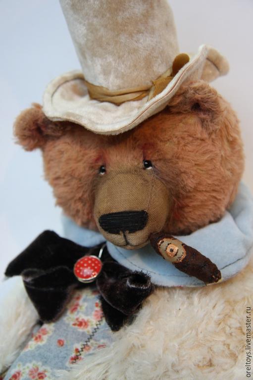 Ольга Орёл, Орёл Ольга, oreltoys, Olga Orel, авторская ручная работа, мишка Тедди, мишка ручной работы.