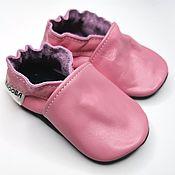 Одежда детская handmade. Livemaster - original item Baby Shoes,Leather baby shoes,Baby Slippers,Kids Shoes,Pink Shoes. Handmade.