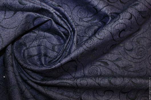 Шитье ручной работы. Ярмарка Мастеров - ручная работа. Купить Джинса стрейч с вышивкой,1150руб-м. Handmade. Разноцветный, пальтовые