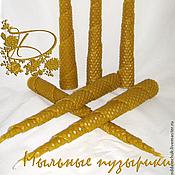 Сувениры и подарки ручной работы. Ярмарка Мастеров - ручная работа Восковые аромасвечи. Handmade.