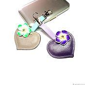 Сумки и аксессуары handmade. Livemaster - original item keychain: Keychain Heart. Handmade.