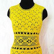 Одежда ручной работы. Ярмарка Мастеров - ручная работа Солнечное мини-платье. Handmade.