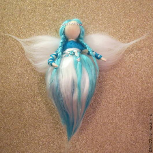Коллекционные куклы ручной работы. Ярмарка Мастеров - ручная работа. Купить Ангел исполняющий желания. Handmade. Ангел-хранитель, ангелочек