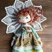 Куклы и игрушки ручной работы. Ярмарка Мастеров - ручная работа Текстильная кукла - Валюшка. Handmade.