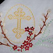 Русский стиль handmade. Livemaster - original item Towel - Easter
