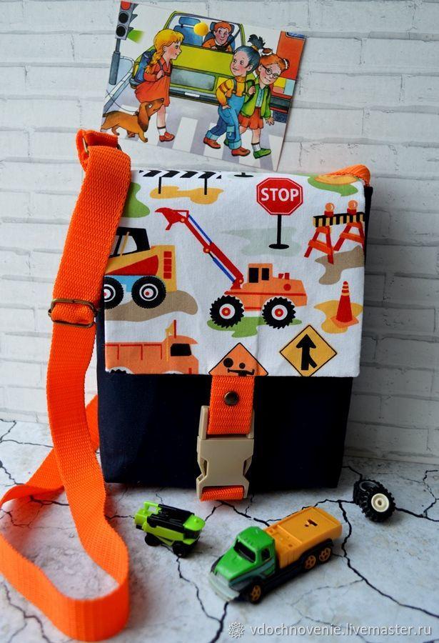 Bag for a boy 'STOP! Repairs!', Bags, Kolomna,  Фото №1