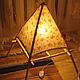 Освещение ручной работы. Пирамида света. СВЕТОЯРЪ. Интернет-магазин Ярмарка Мастеров. Светильник ручной работы, тепло, Дерево натуральное