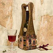 """Для дома и интерьера ручной работы. Ярмарка Мастеров - ручная работа Короб для вина """"ВЕНЕЦИЯ"""". Handmade."""