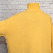 Одежда handmade. Livemaster - original item Sweater Japanese shoulder cashmere oversize. Handmade.